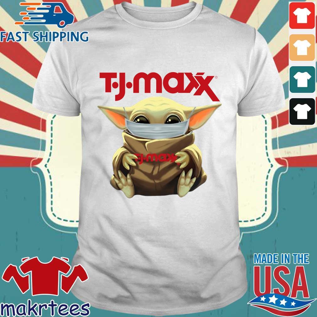 Baby Yoda Face Mask Hug TJ Maxx Shirt