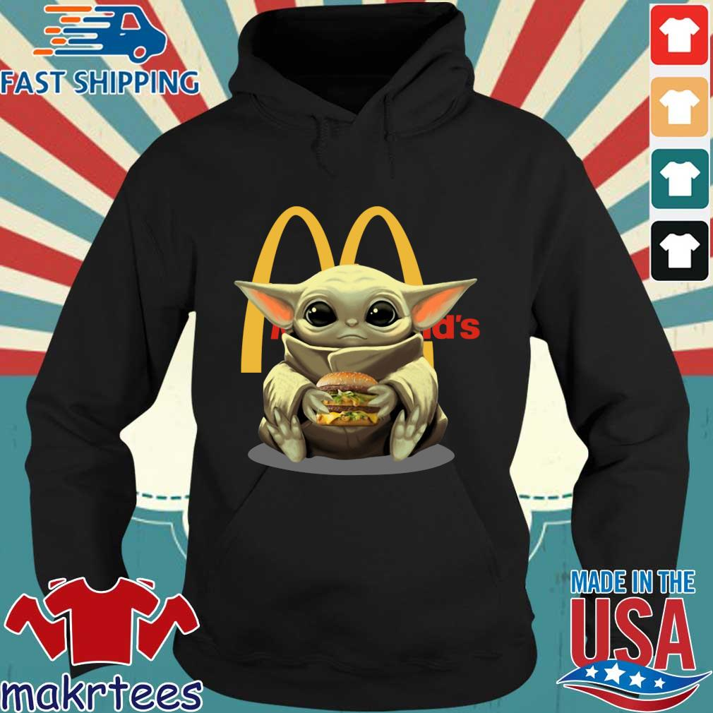 Baby Yoda Hug Hamburger Mcdonald_s Shirt Hoodie den