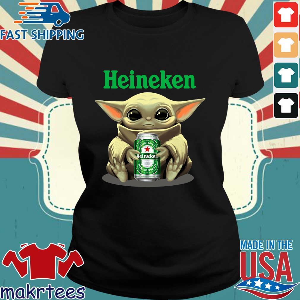 Baby Yoda Hug Heinehen Shirt Ladies den