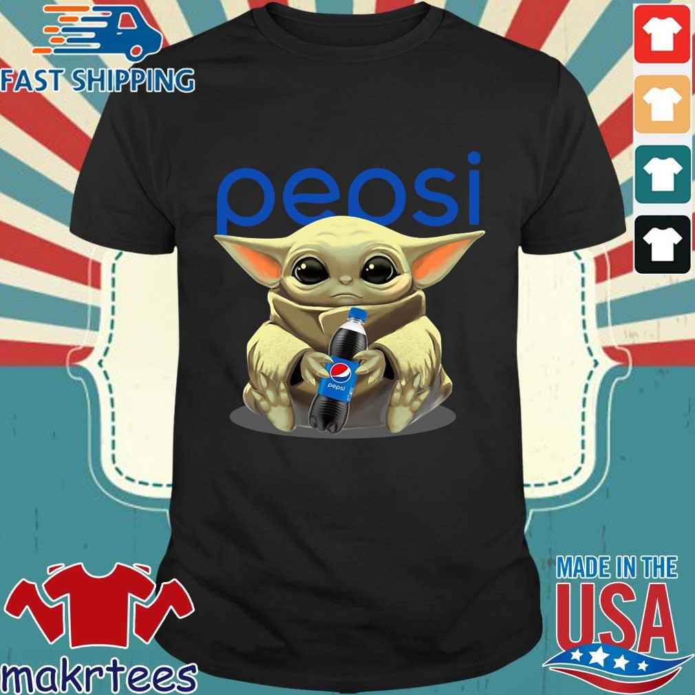 Baby Yoda Hug Pepsi Shirt