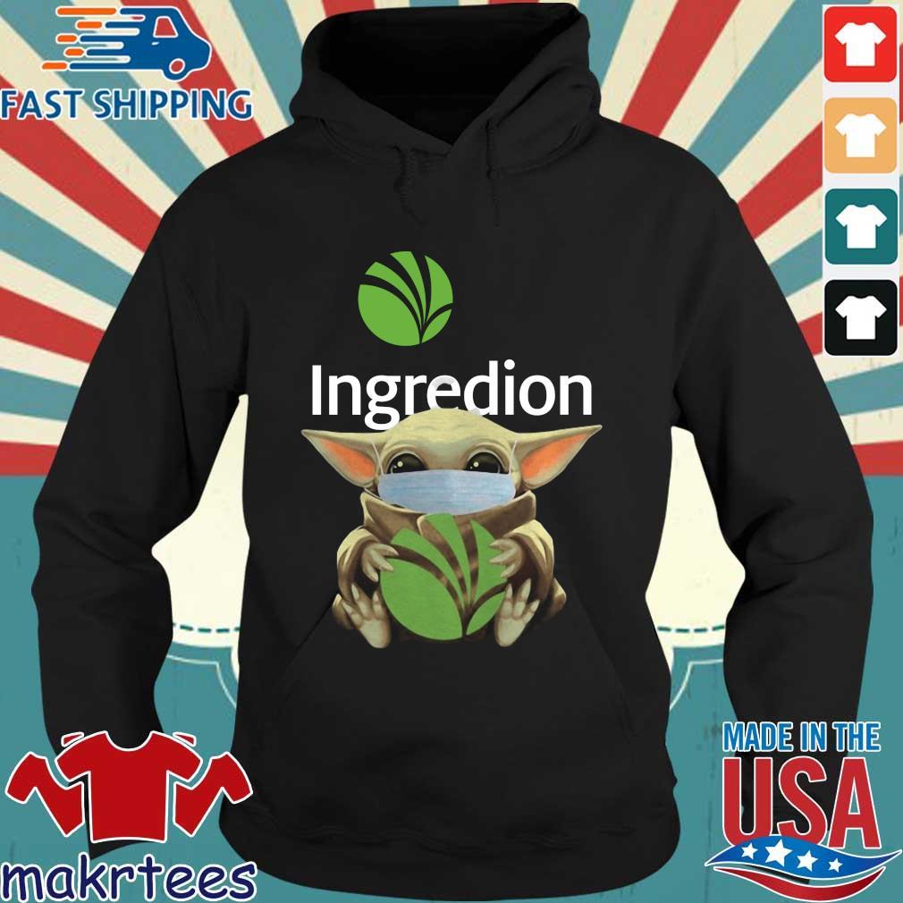 Baby Yoda Mask Ingredion Incorporated Shirt Hoodie den