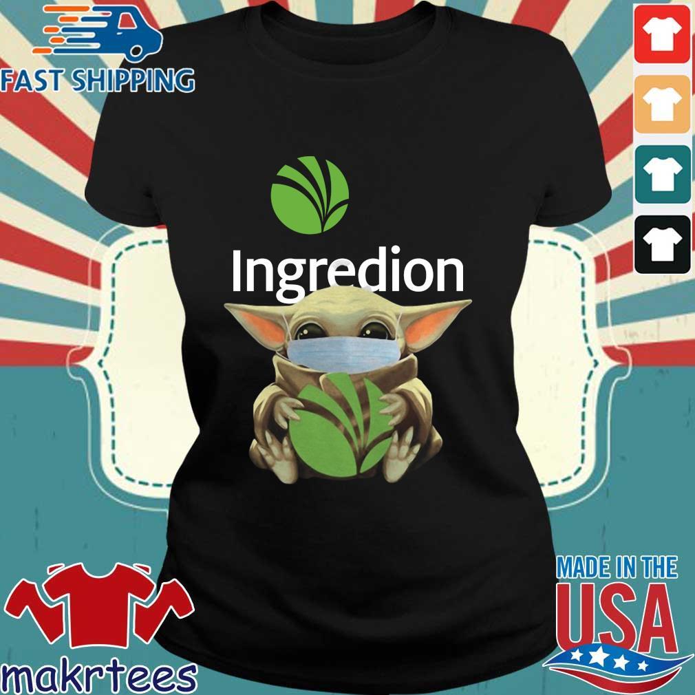 Baby Yoda Mask Ingredion Incorporated Shirt Ladies den