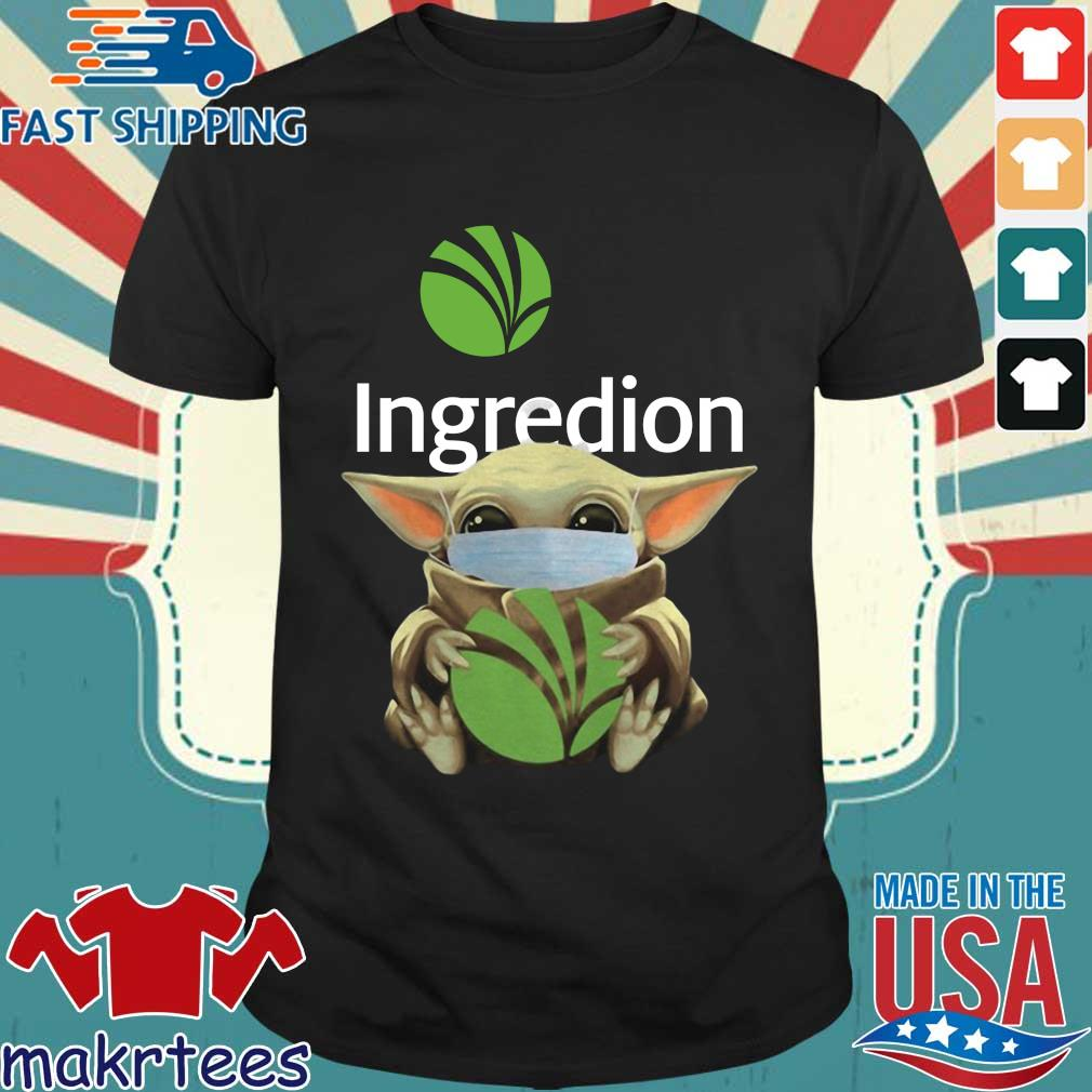 Baby Yoda Mask Ingredion Incorporated Shirt