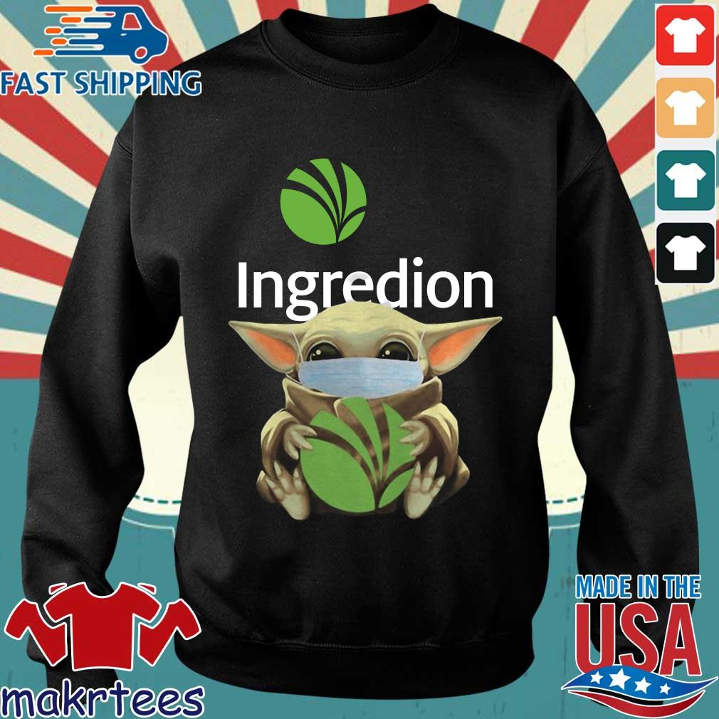Baby Yoda Mask Ingredion Incorporated Shirt Sweater den
