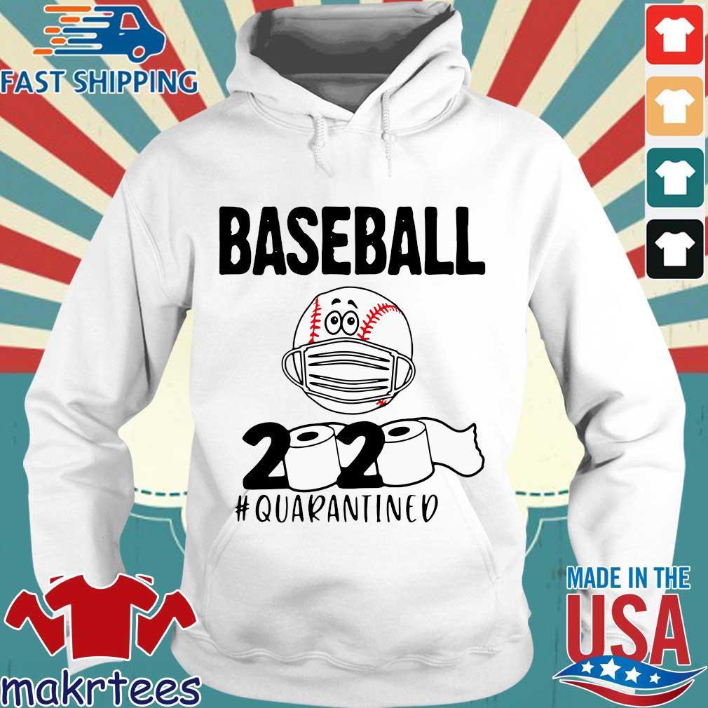 Baseball 2020 Toilrt Paper #quarantined Shirt Hoodie trang