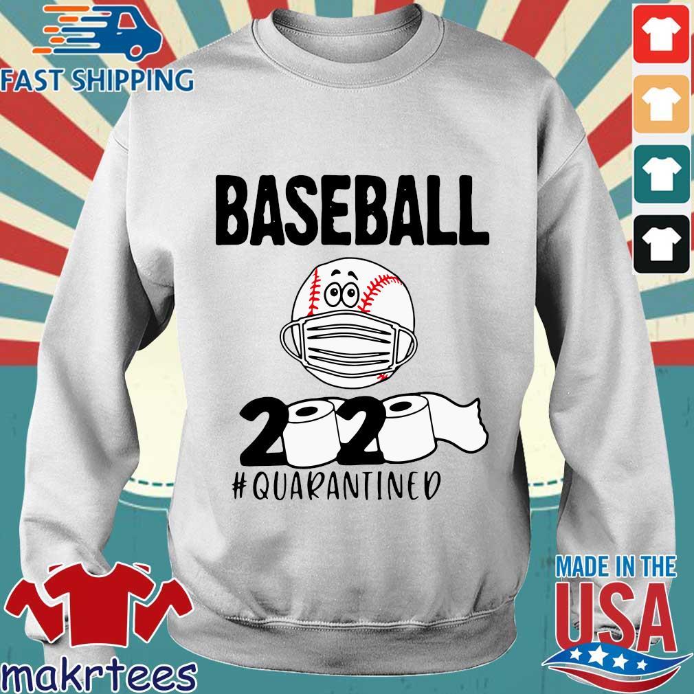 Baseball 2020 Toilrt Paper #quarantined Shirt Sweater trang