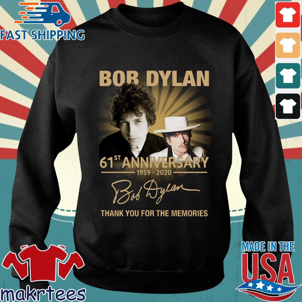 Bob Dylan 61st Anniversary 1959-2020 Thank You For The Memories Shirt Sweater den
