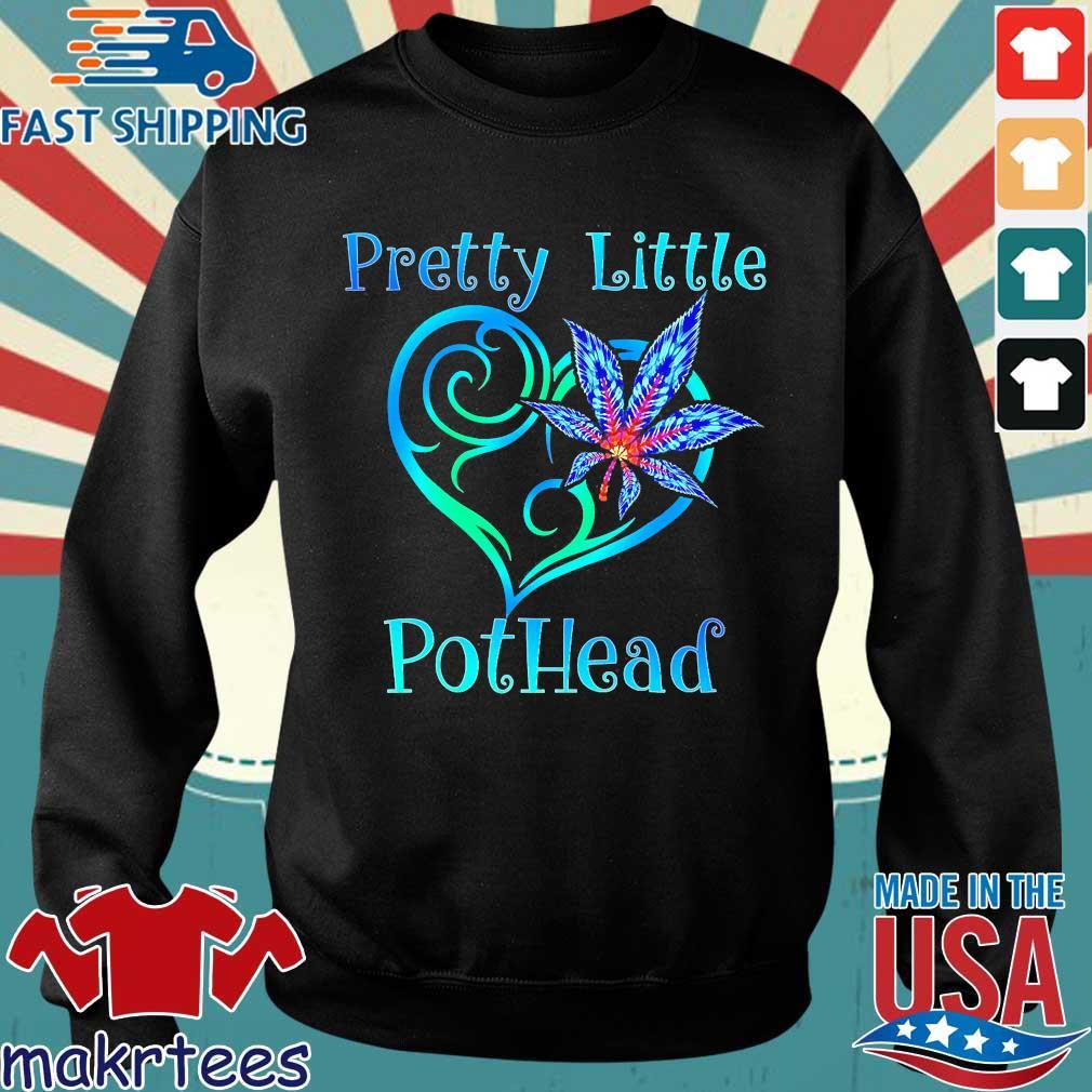 Cannabis Pretty Little Pothead Shirt Sweater den