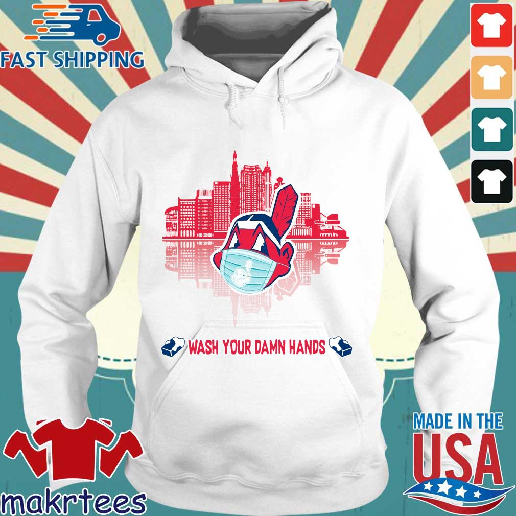 Chicago Cubs Wash Your Damn Hands Covid 19 City Shirt Hoodie trang
