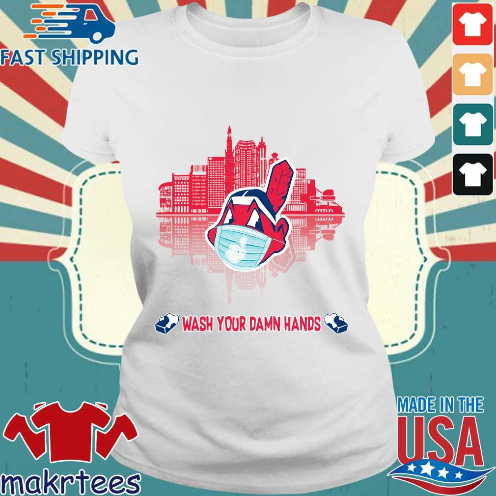 Chicago Cubs Wash Your Damn Hands Covid 19 City Shirt Ladies trang