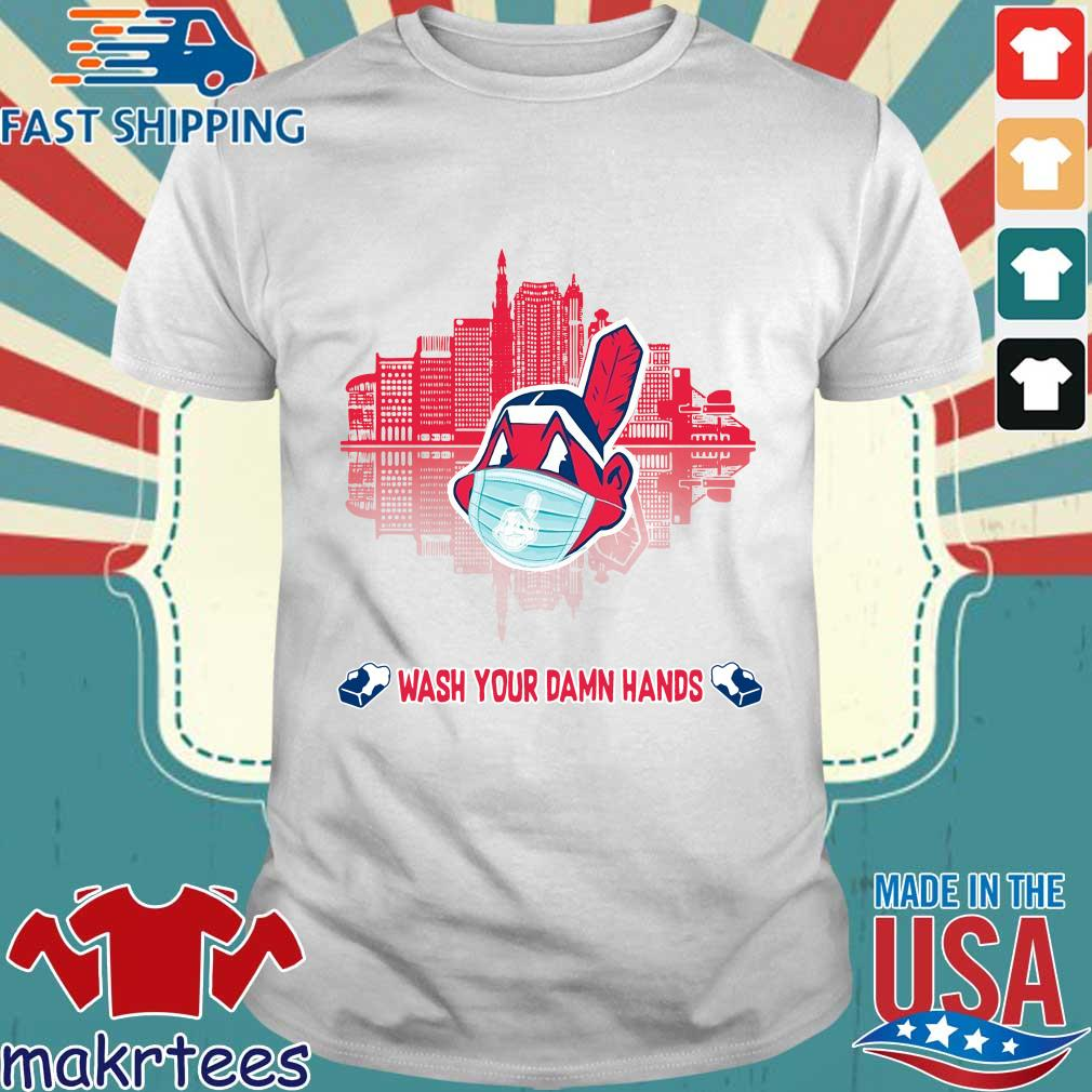 Chicago Cubs Wash Your Damn Hands Covid 19 City Shirt