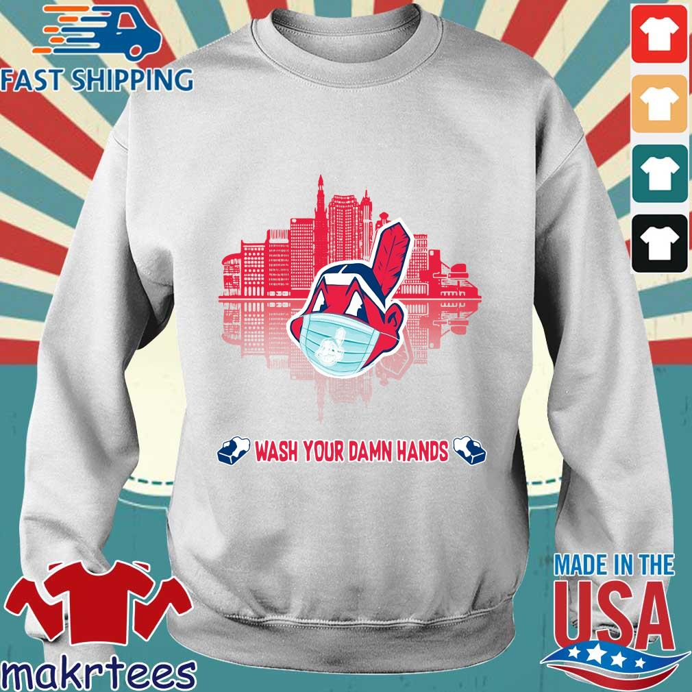 Chicago Cubs Wash Your Damn Hands Covid 19 City Shirt Sweater trang