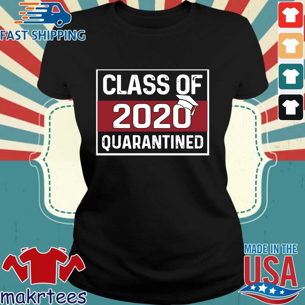 Class Of 2020 Graduating Class In Quarantine Vintage For T-Shirt Ladies den