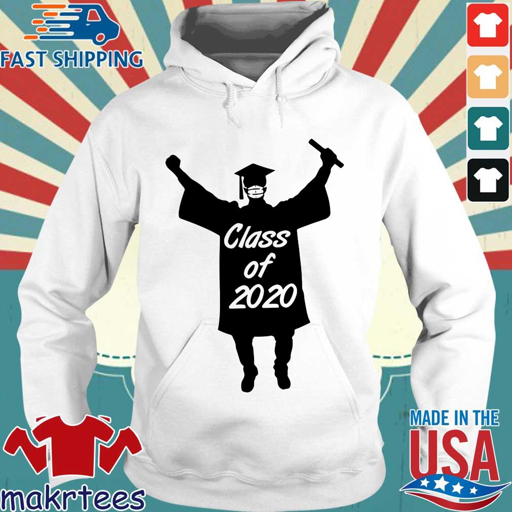 Class Of 2020 Graduation Mask Shirt Hoodie trang