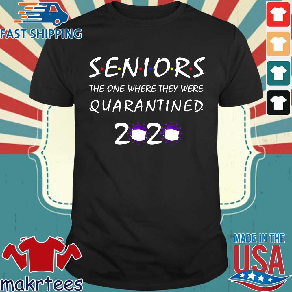 Class Of 2020 Graduation Senior Funny Quarantine Shirt