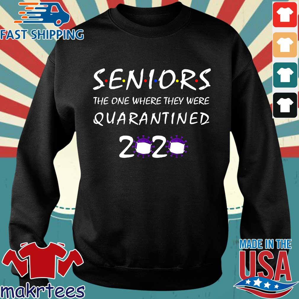 Class Of 2020 Graduation Senior Funny Quarantine T-Shirt Sweater den