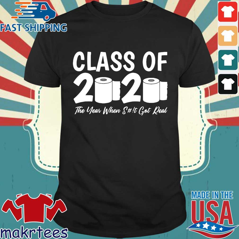 Class Of 2020 Graduation Senior Virus Flu Toilet Paper T-Shirts