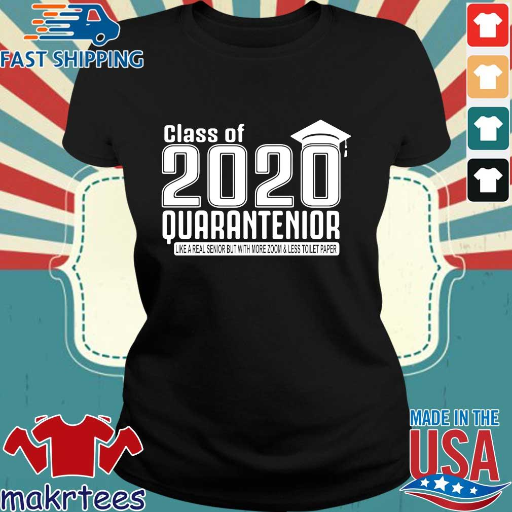 Class Of 2020 Quarantenior Graduate Shirt Ladies den