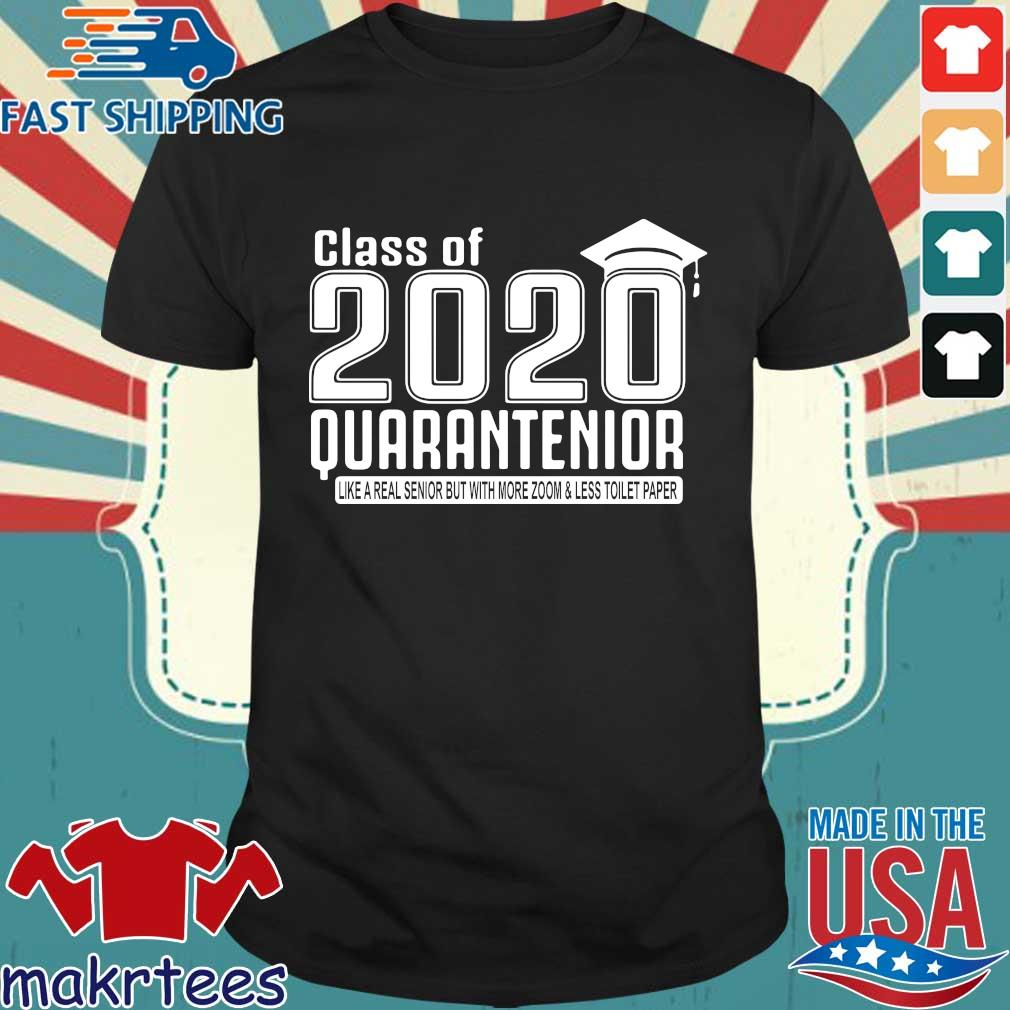 Class Of 2020 Quarantenior Graduate Shirt