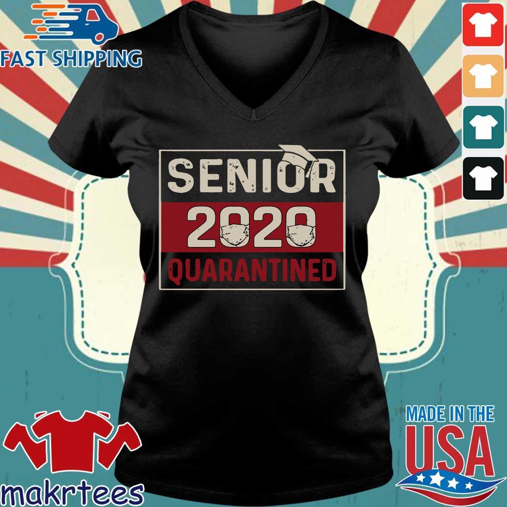 Class of 2020 quarantine senior 2020 quarantined s Ladies V-neck den
