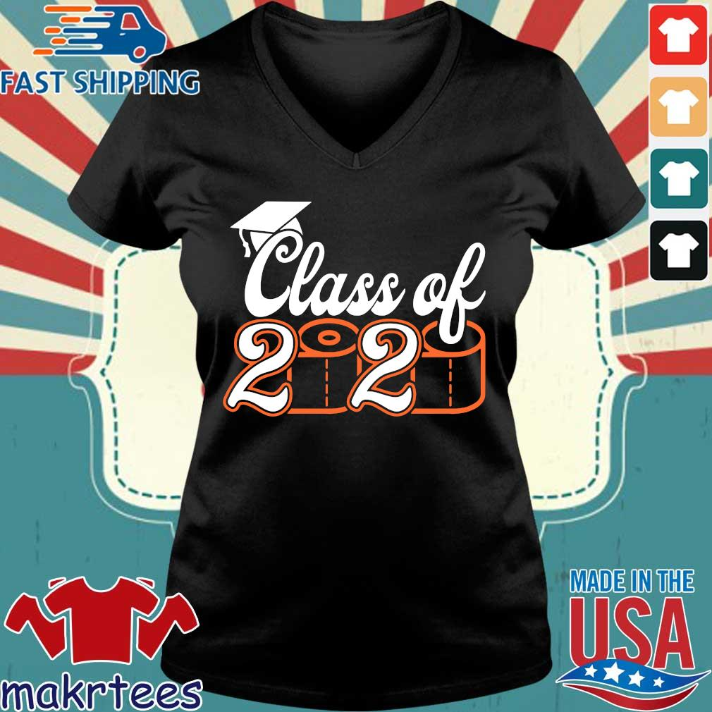 Class Of 2020 Quarantined – Class of 2020 Toilet Paper Tee Shirt Ladies V-neck den
