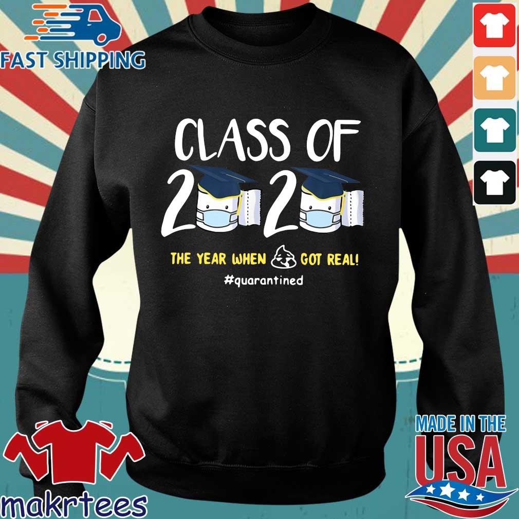 Class Of 2020 The Year When Shit Got Real #quarantined Shirt Sweater den