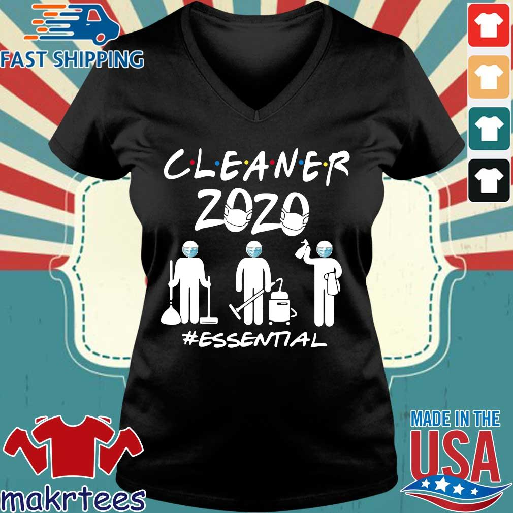 Cleaner 2020 Essential Shirts Ladies V-neck den