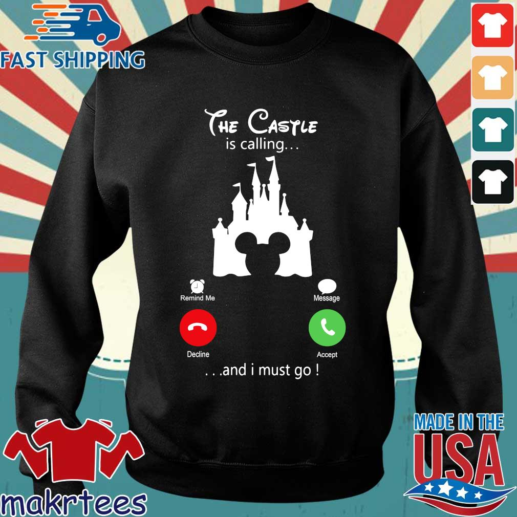 Disney Mickey The Castle Is Calling And I Must Go Shirt Sweater den