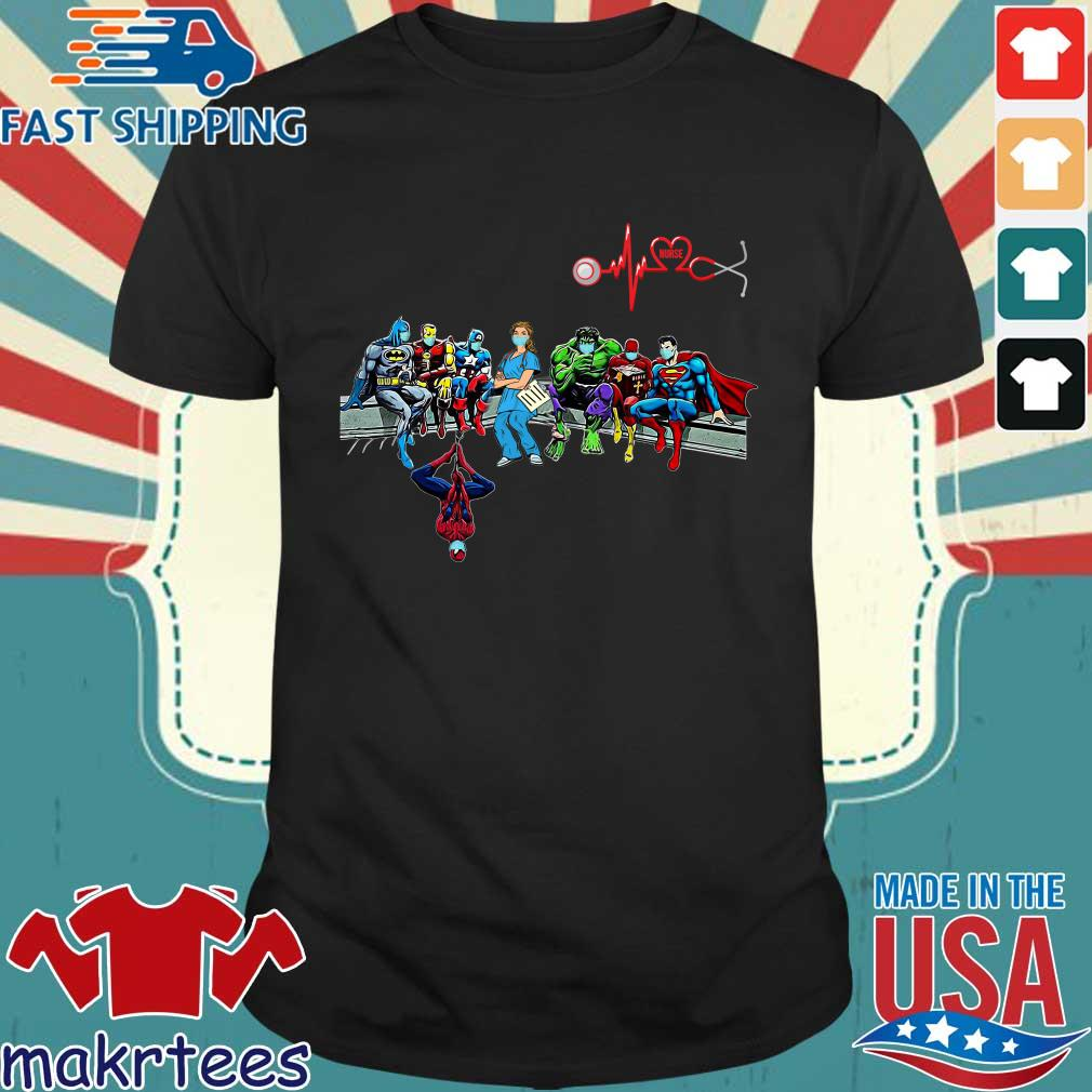 Doctor And Superheroes Nurse Healthcare Worker 2020 Shirt