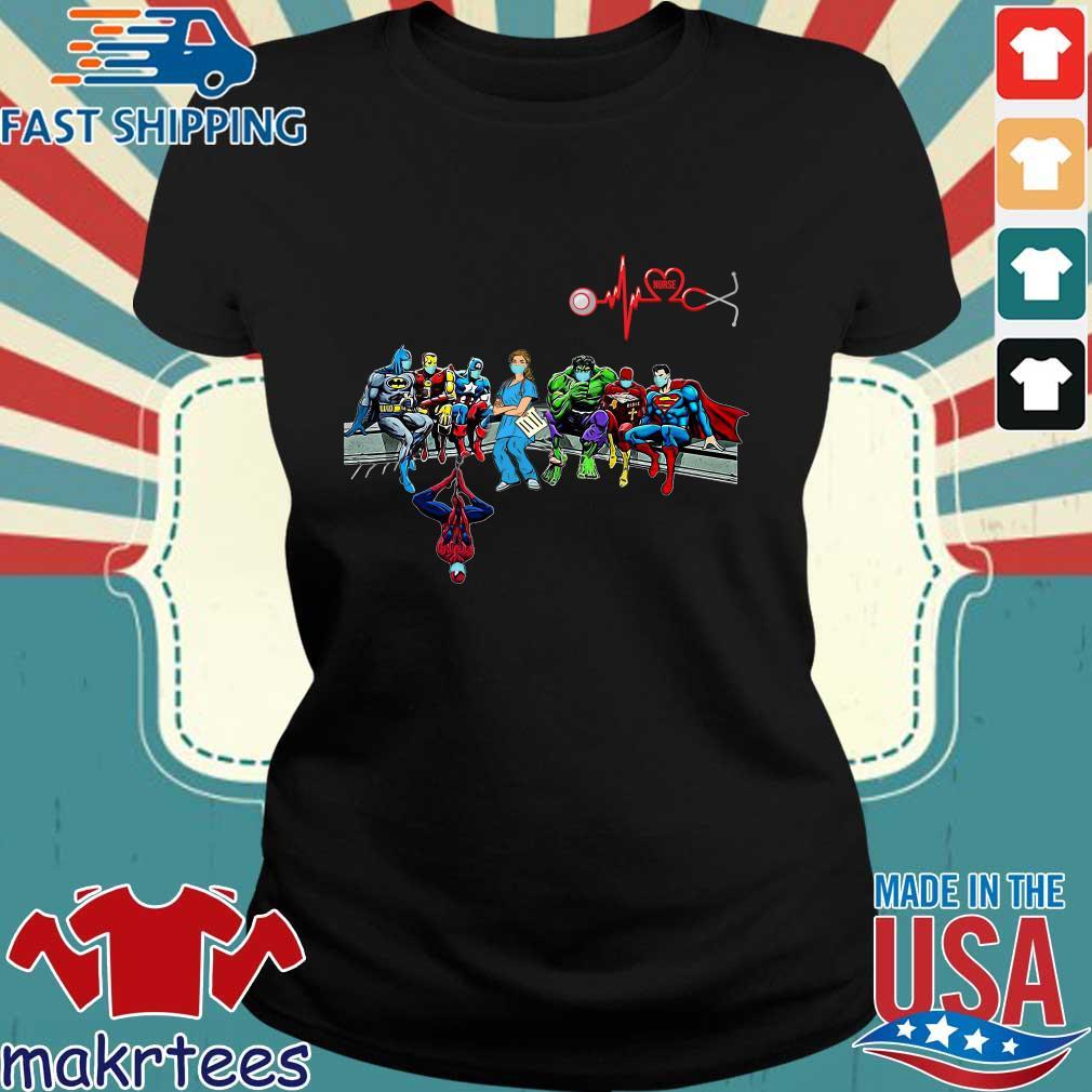 Doctor And Superheroes Nurse Healthcare Worker 2020 Shirts Ladies den