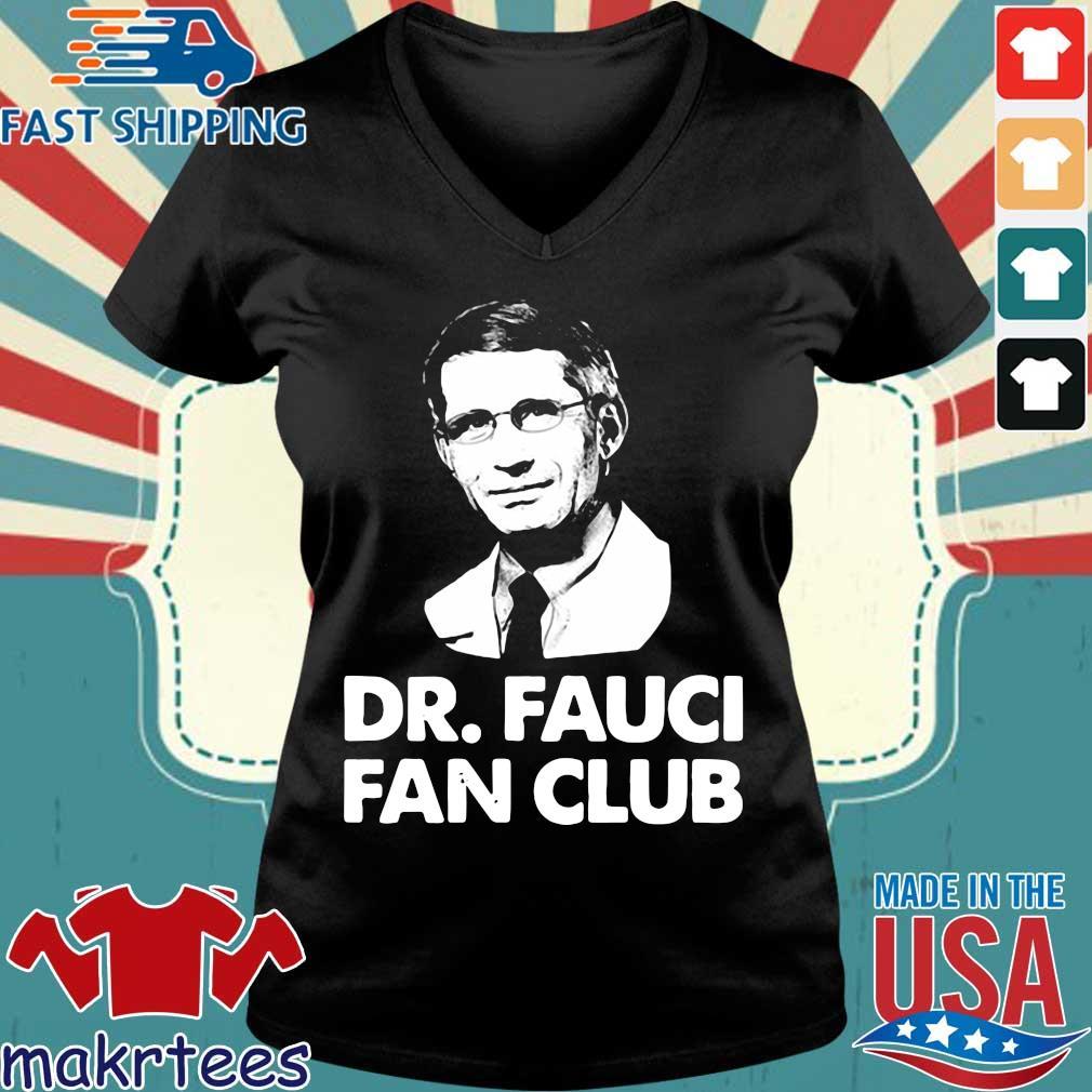 Dr Fauci Fan Club Shirt Ladies V-neck den