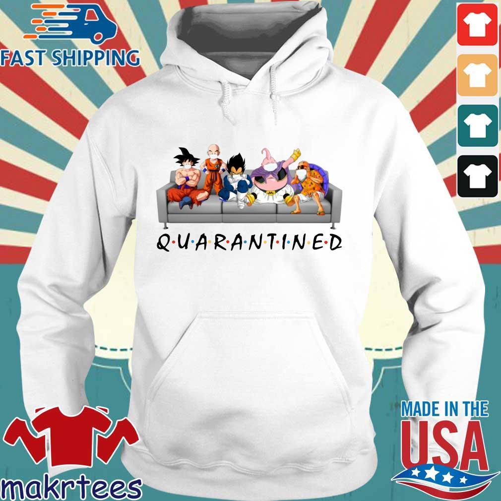 Dragon Ball Quarantined Shirt Hoodie trang