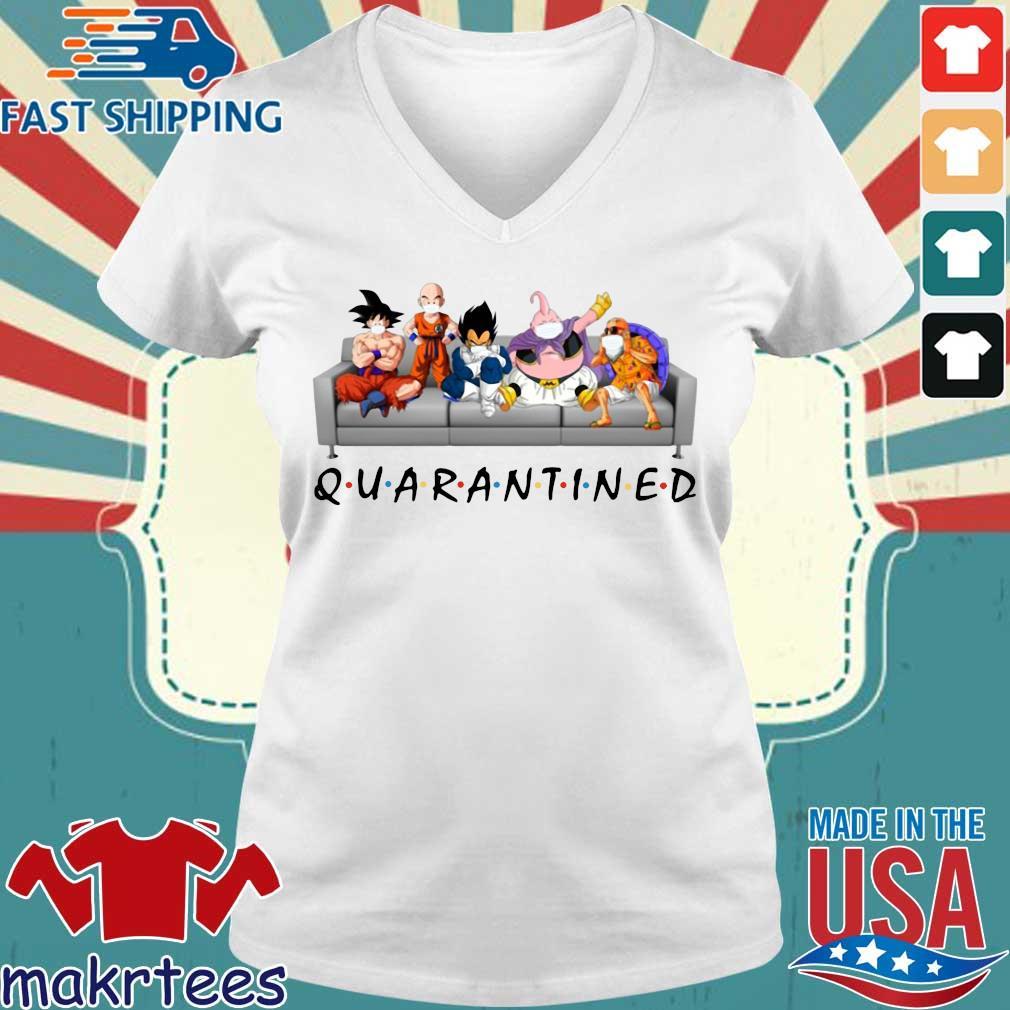 Dragon Ball Quarantined Shirt Ladies V-neck trang