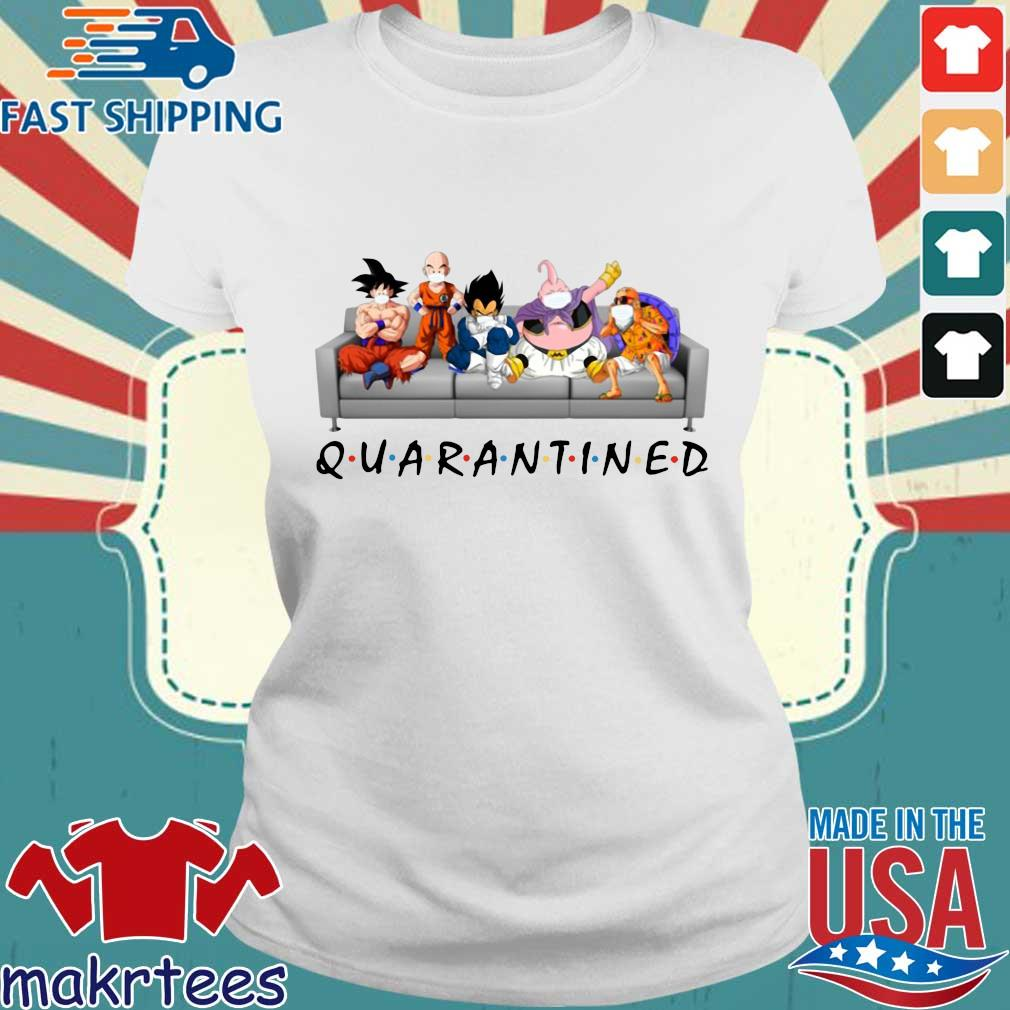 Dragon Ball Quarantined Shirt Ladies trang