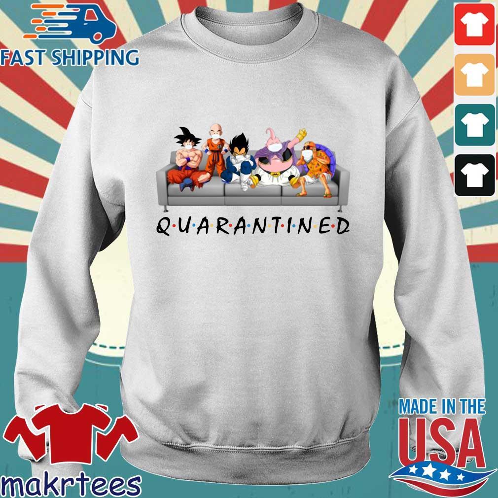 Dragon Ball Quarantined Shirt Sweater trang