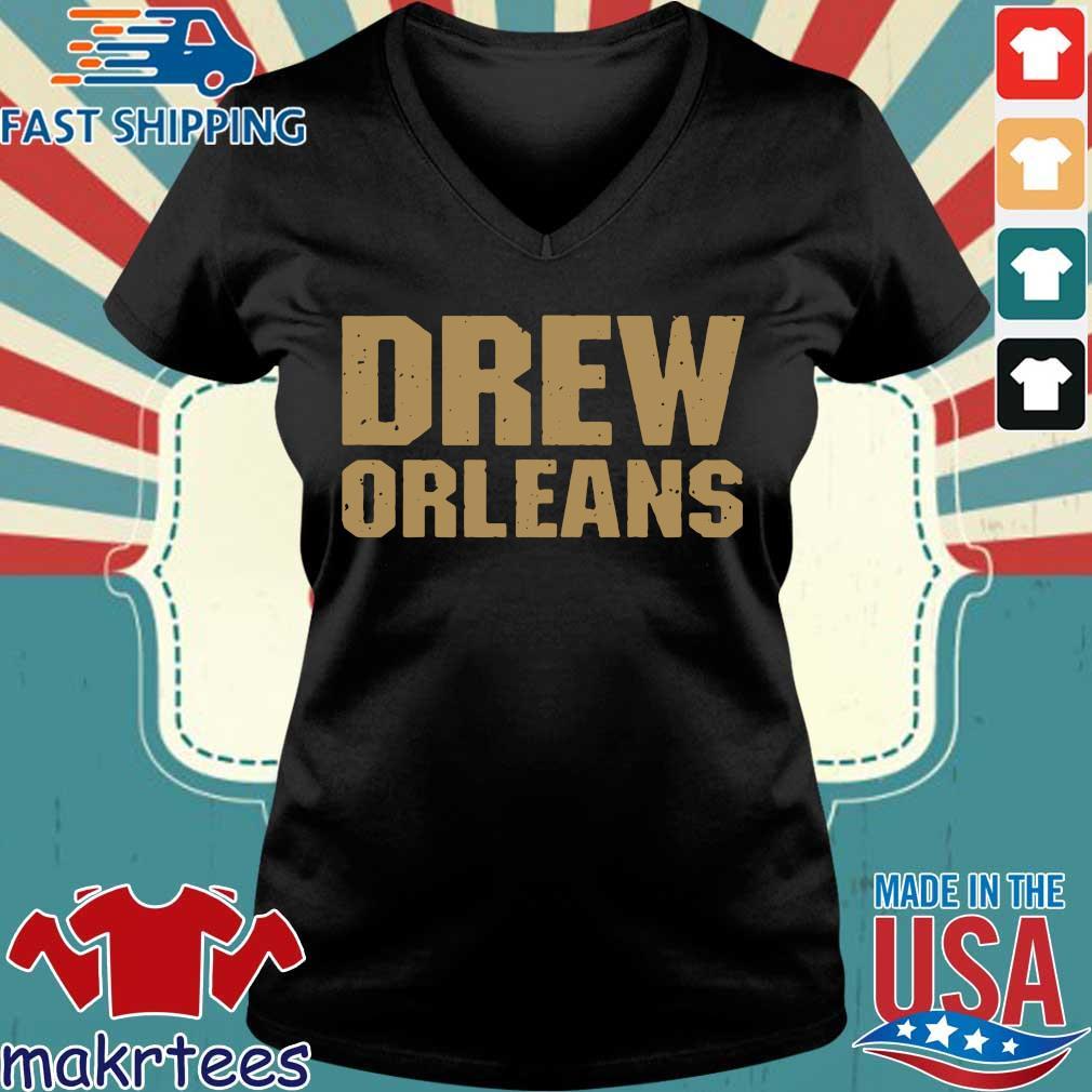 Drew Orleans Shirt Ladies V-neck den