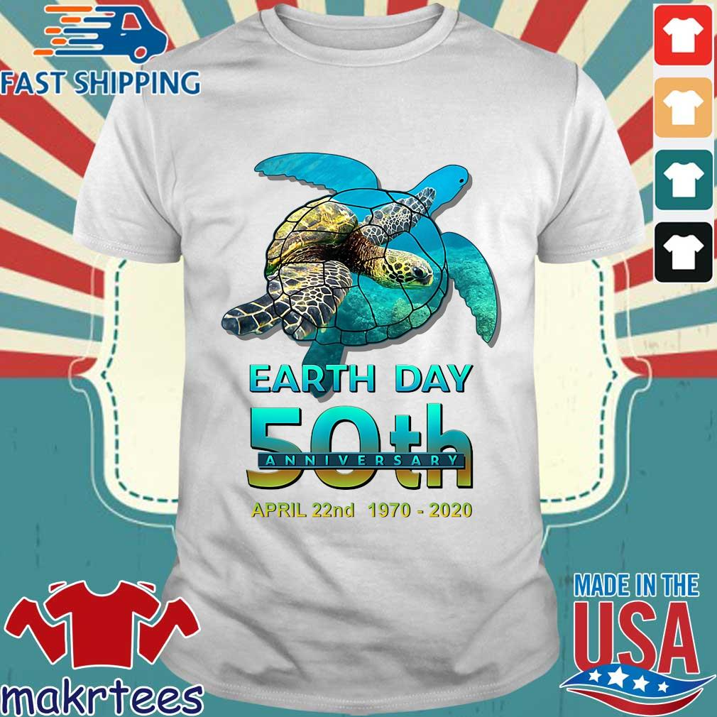 Earth Day 50th Anniversary April 22nd 1970 2020 Signatures Shirt