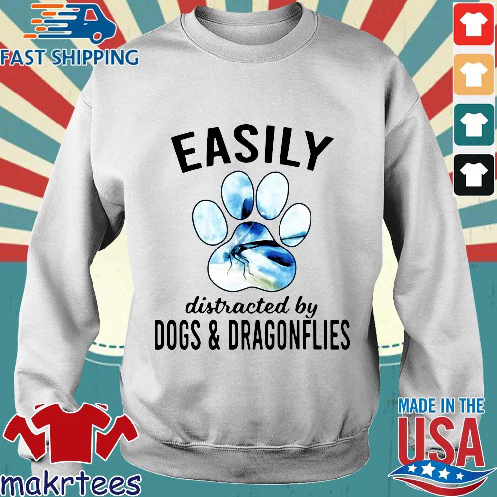 Easily Distracted By Dogs And Dragonflies Shirt Sweater trang
