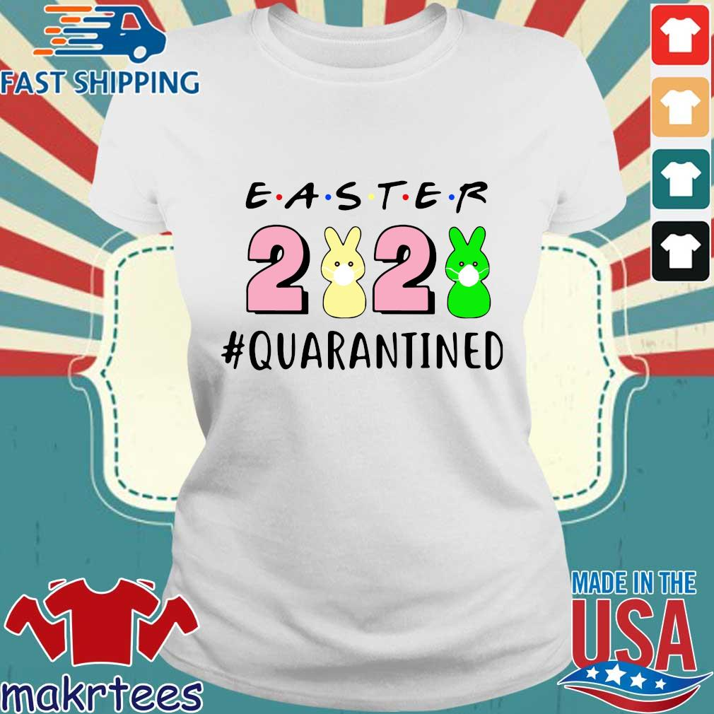 Easter 2020 Quarantined Shirt Ladies trang