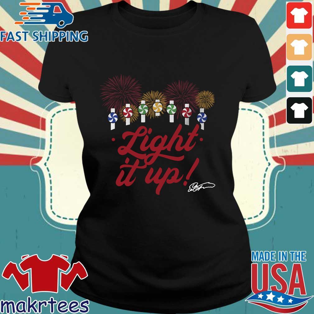 Ed Farmer Light It Up Chicago Shirt Ladies den