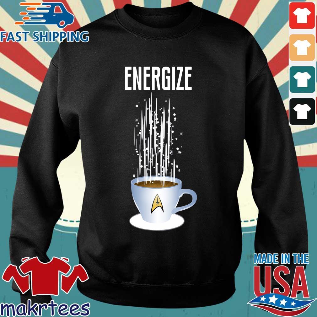 Energize Star Trek Coffee Shirt Sweater den