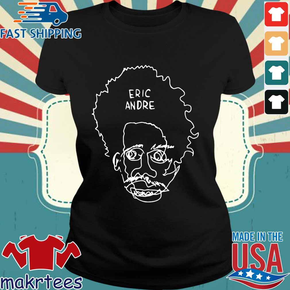Eric Andre Merch Blind Contour Shirt Ladies den