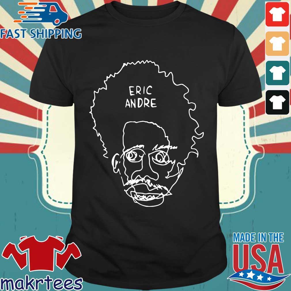 Eric Andre Merch Blind Contour Shirt