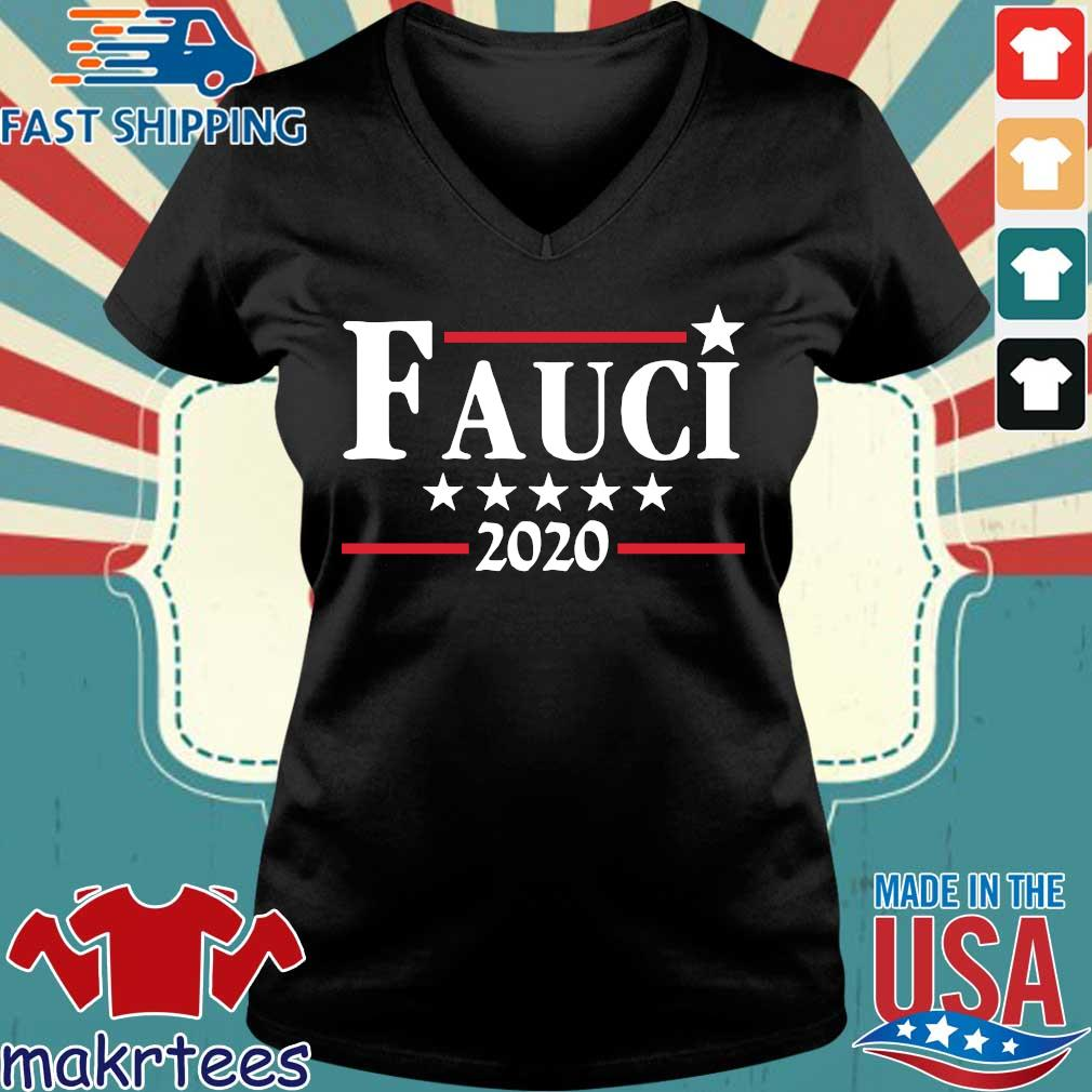 Fauci 2020 Campaign Shirt Ladies V-neck den