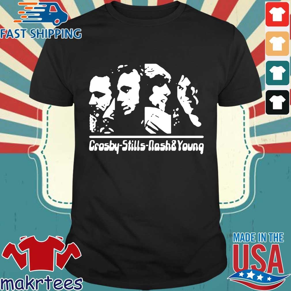 Folk Music Stephen Stills Crosby Nash'Young T-shirt