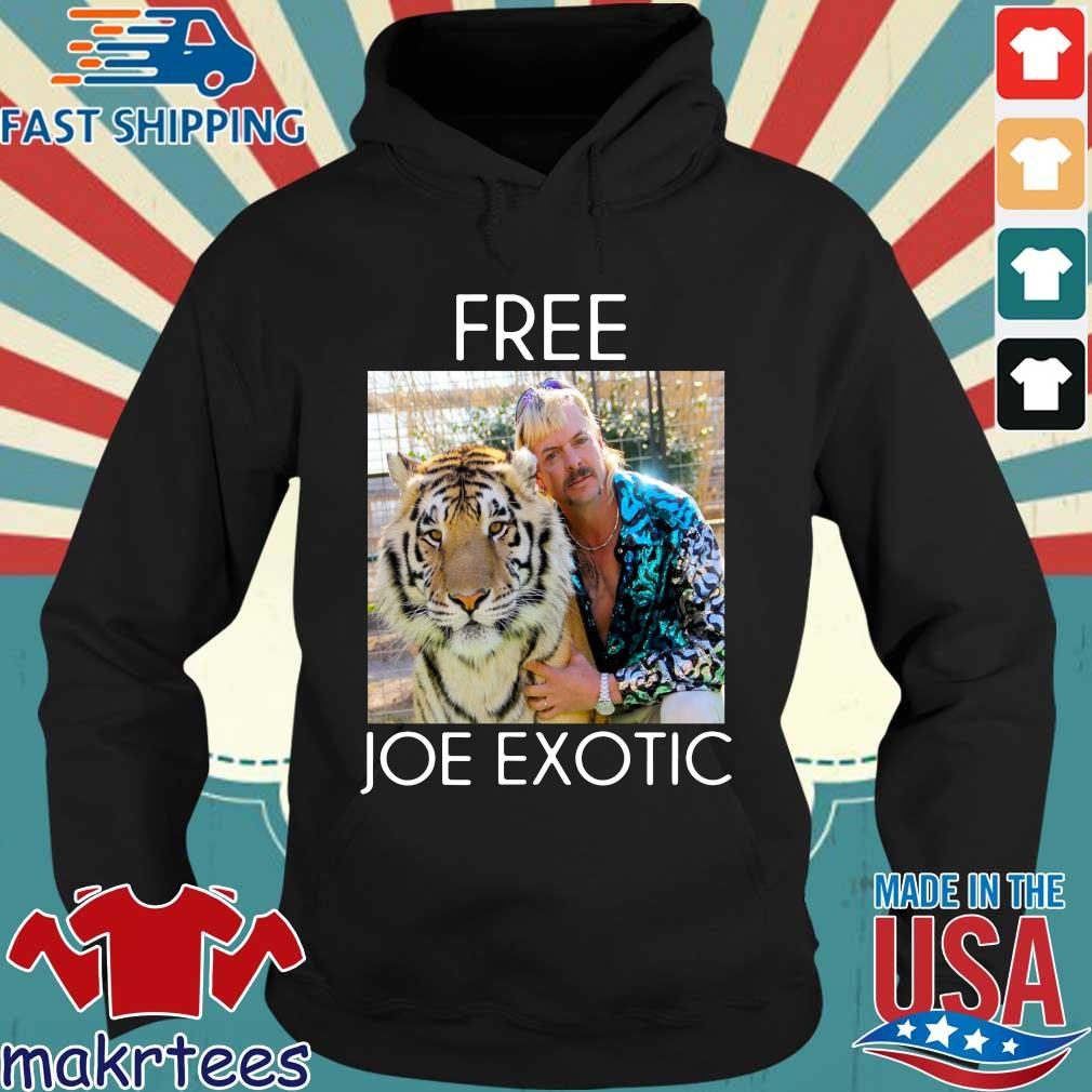 Free Joe Exotic Shirt Tiger King Shirt Hoodie den