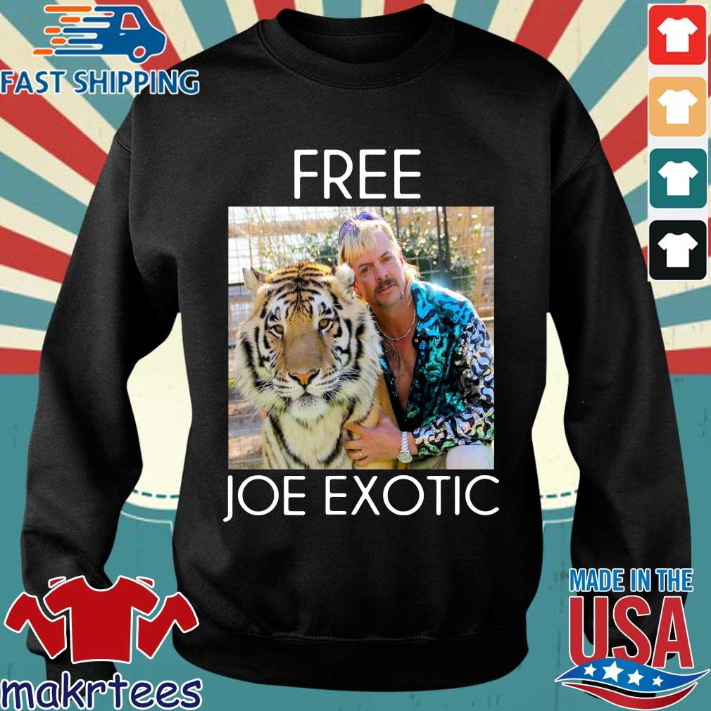 Free Joe Exotic Shirt Tiger King Shirt Sweater den