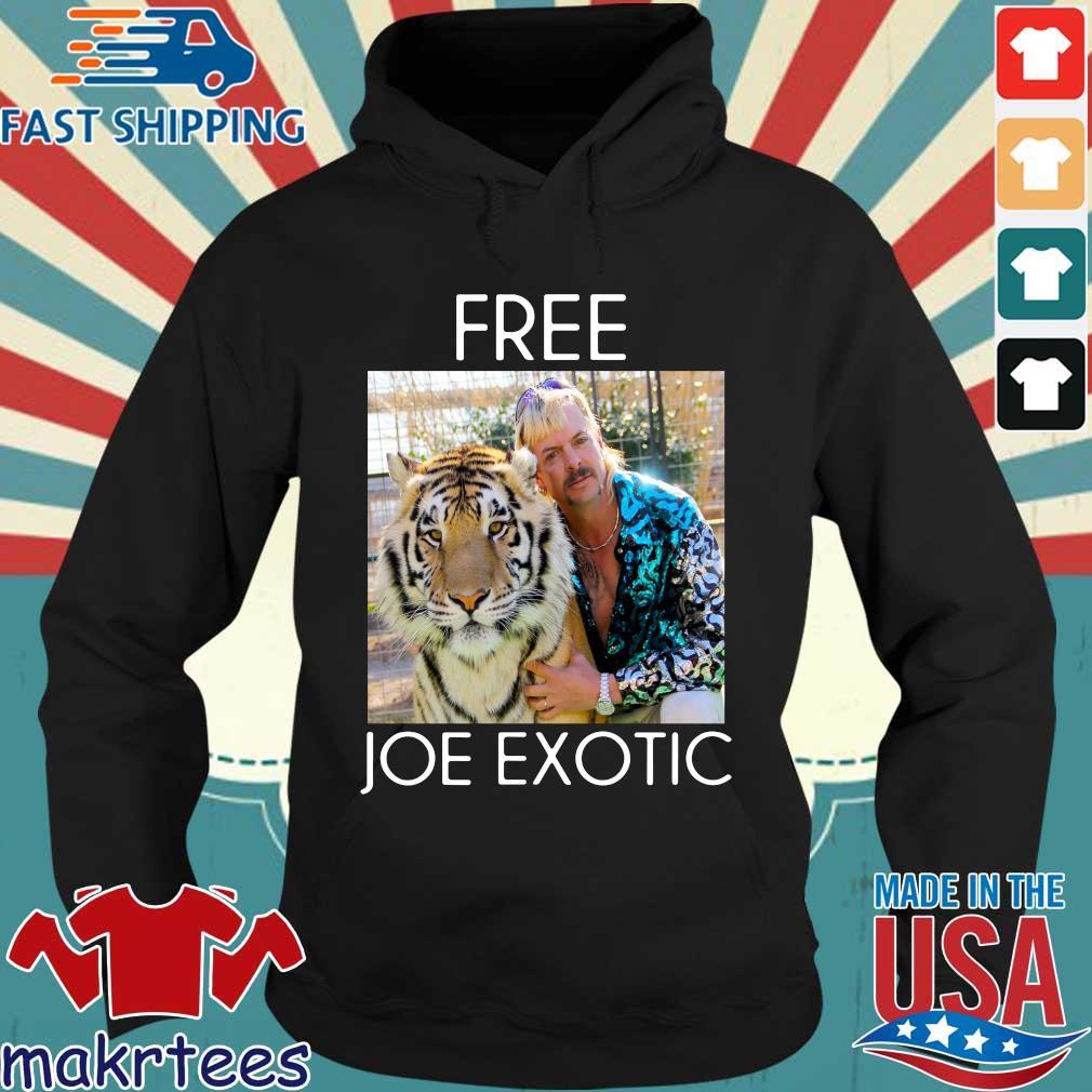Free Joe Exotic Shirt Tiger King Tee Shirt Hoodie den