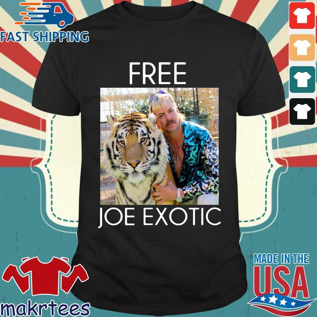 Free Joe Exotic Shirt Tiger King Tee Shirt