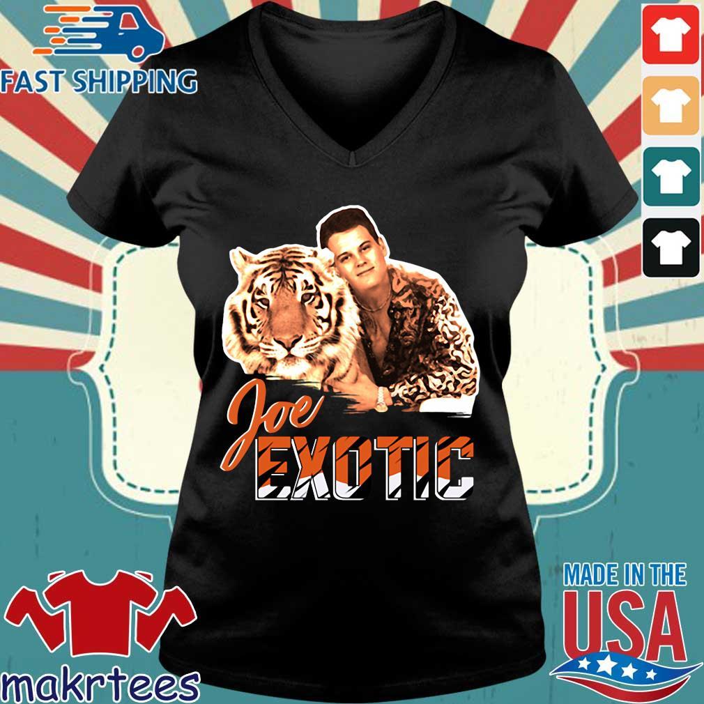 Free Joe Exotic The Tiger King Shirt Ladies V-neck den